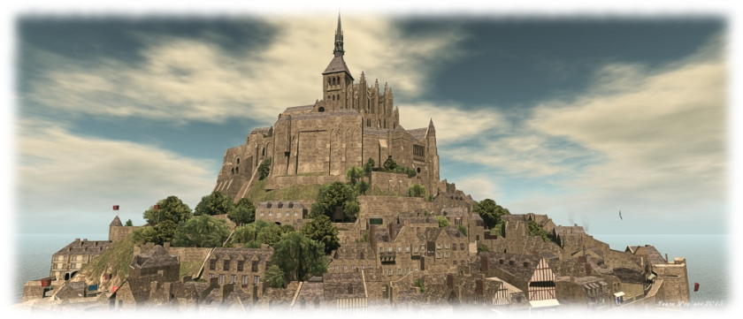 Mont Saint Michel - now departed Second Life